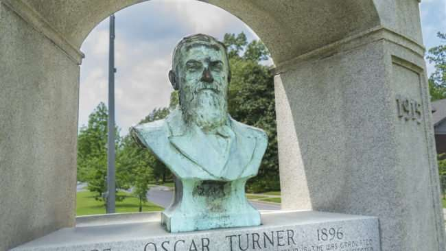 April 29, 2017 - Oscar Turner memorial on Jefferson at 25th Street in Paducah, KY/photonews247.com