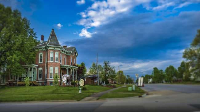 April 18, 2017 - Riverview Mansion bed & breakfast in Metropolis, IL next to Paducah KY/photonews247.com