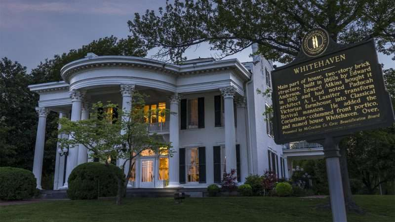 Whitehaven Welcome Center Paducah Ky Photo News 247