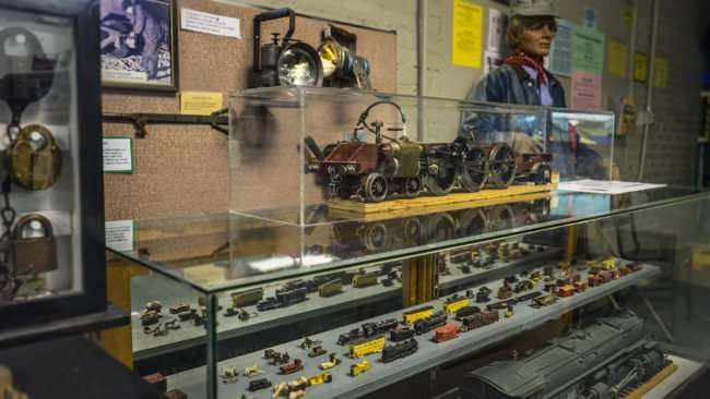 April 6, 2017 - Antiquated model train at Paducah Railroad Museum/photonews247.com