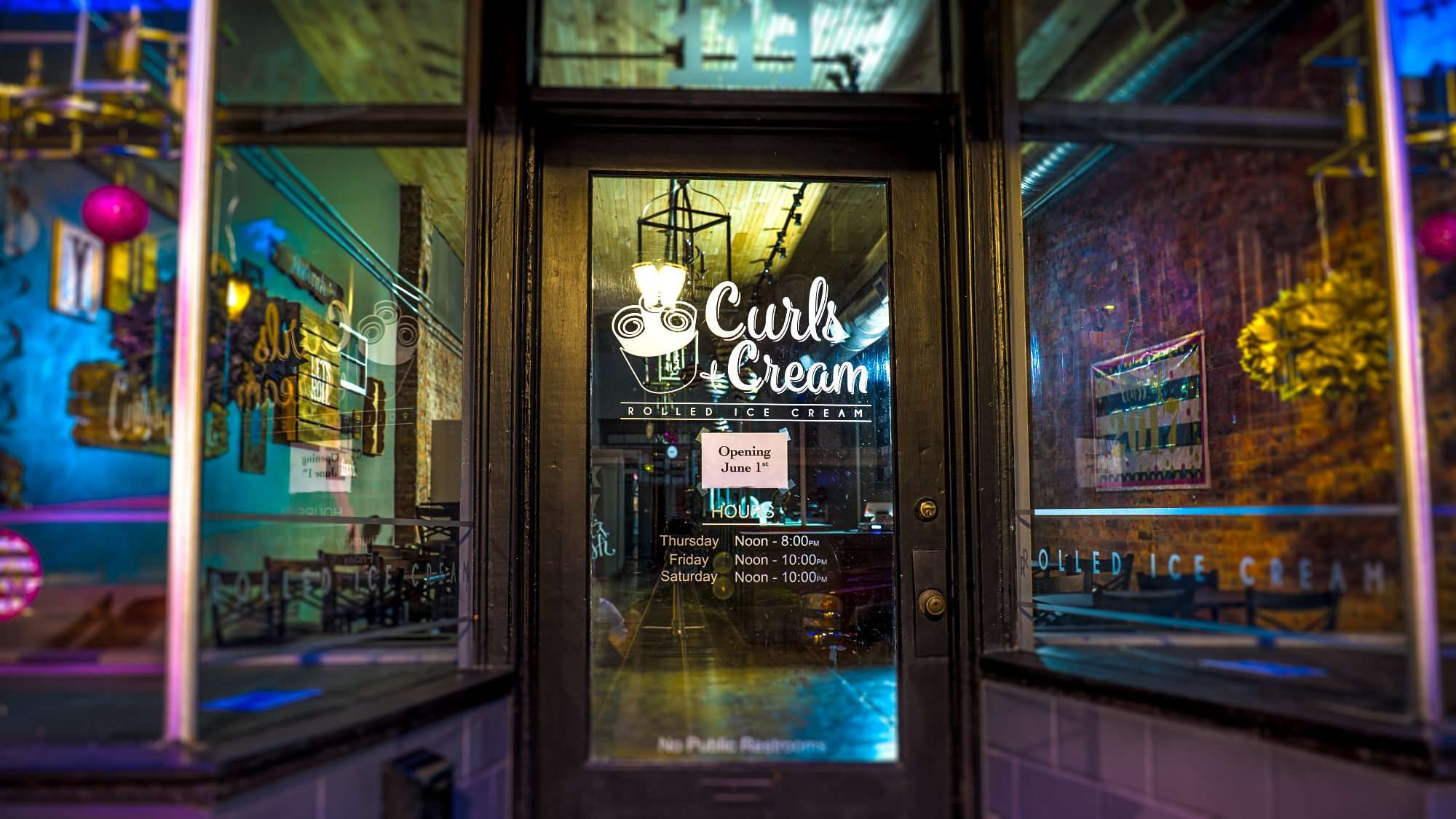 May 1, 2017 - Curls & Cream Rolled Ice Cream Shop coming soon to downtown Paducah, KY/photonews247.com