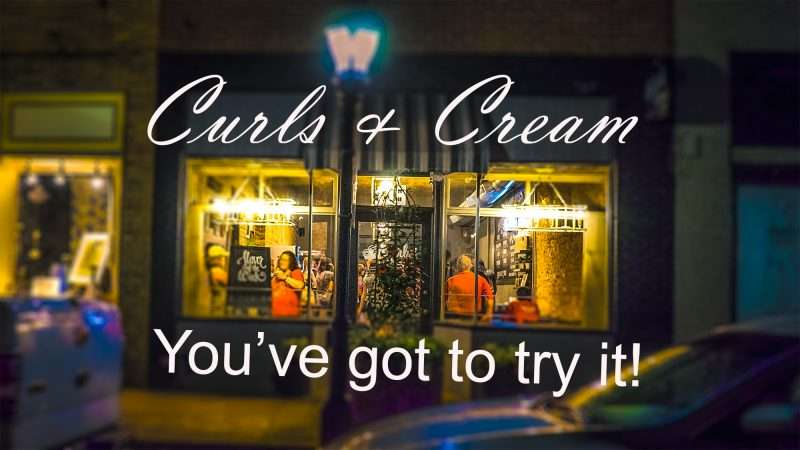 June 2, 2017 - Curls and Cream ice cream shop packed at night Downtown Paducah, KY/photonews247.com