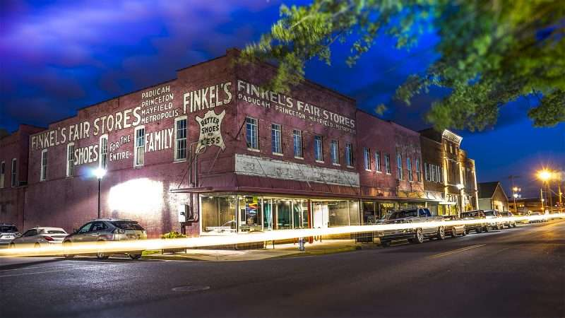 2017 finkels fair store building in downtown paducah ky