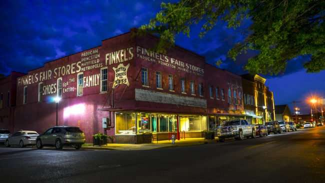 May 21, 2017 - Finkels Fair Store historic 1918 building downtown Paducah, KY/photonews247.com