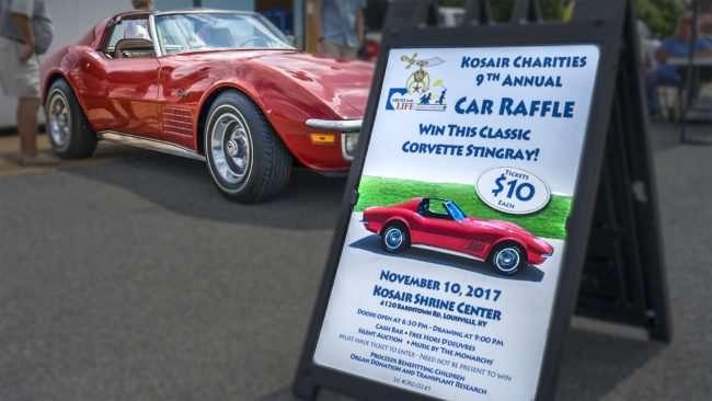 June 3, 2017 - Kosair Charities 9th Annual Corvette Stingray car raffle at car show, downtown Paducah, KY/photonews247.com