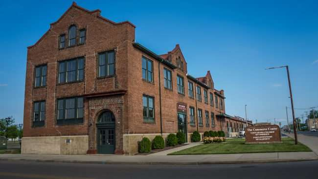 May 18, 2017 - Paducah Area Chamber of Commerce building in former 1925 built Railroad Freight Depot/photonews247.com