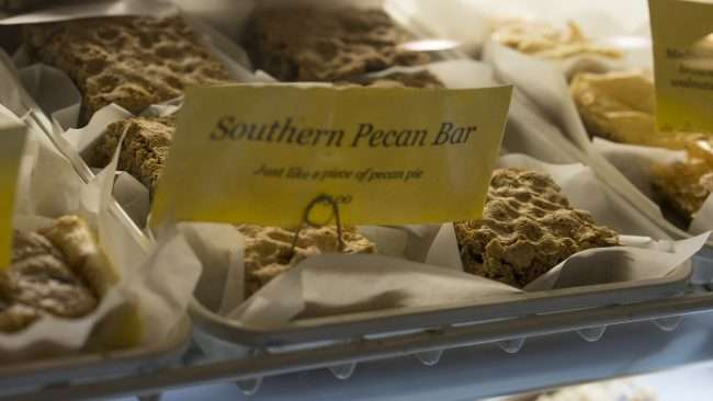 Dec 7, 2017 - Southern Pecan Bars at Kirchhoff's Bakery and Deli Market House Square, Paducah/photonews247.com