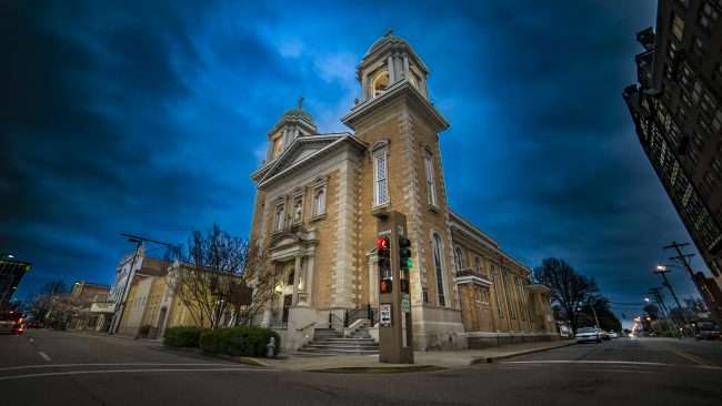03.27.2018 - Saint Francis de Sales Catholic Church located in historic downtown Paducah KY/photonews247.com