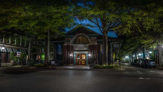 May 21, 2017 - The Market House Theater at night downtown Paducah, KY/photonews247.com