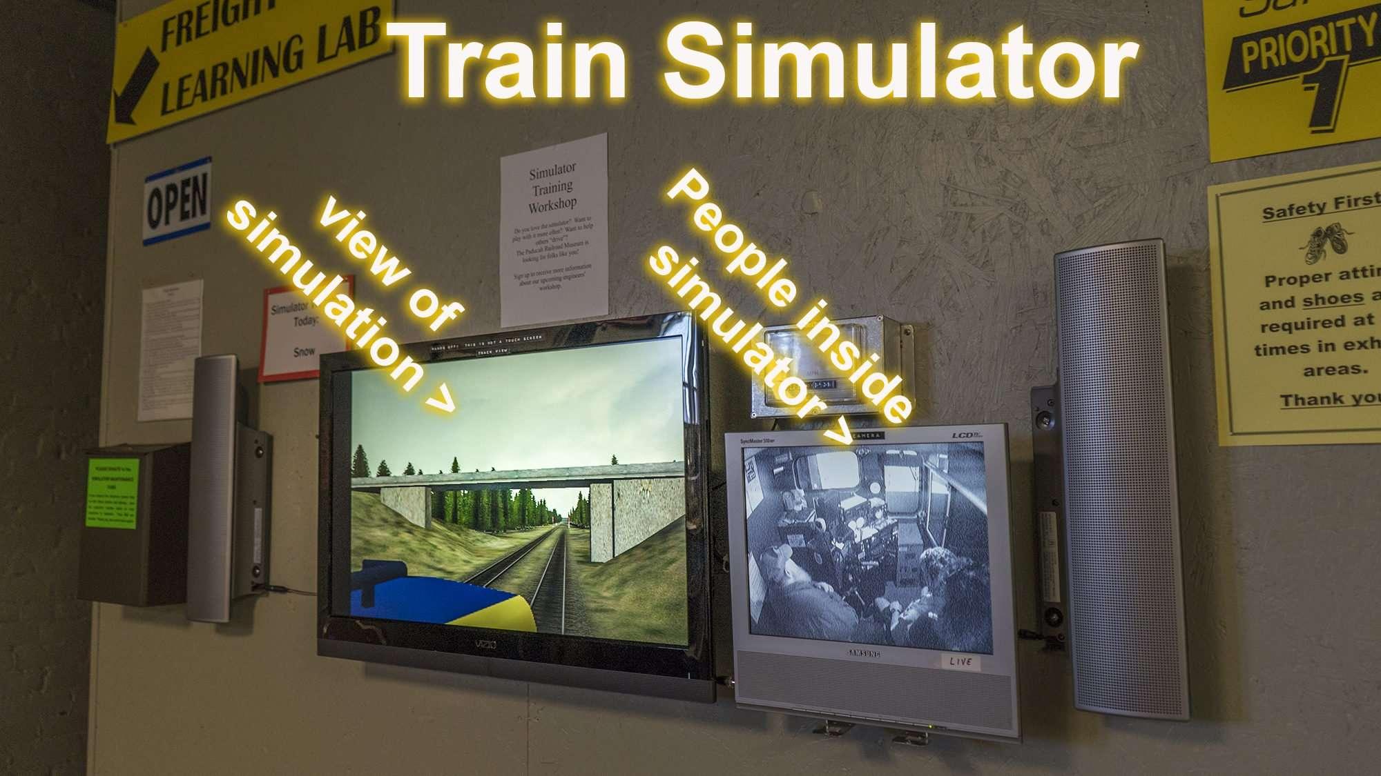 April 6, 2017 - Train Simulator Paducah Railroad Museum/photonews247.com