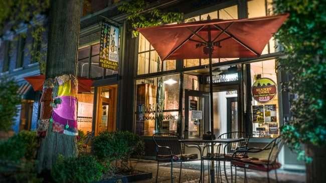 Sept 25, 2017 - Tribeca Mexican Cuisine restaurant,1857 Guest House, Market House Square, Paducah, KY/photonews247.com