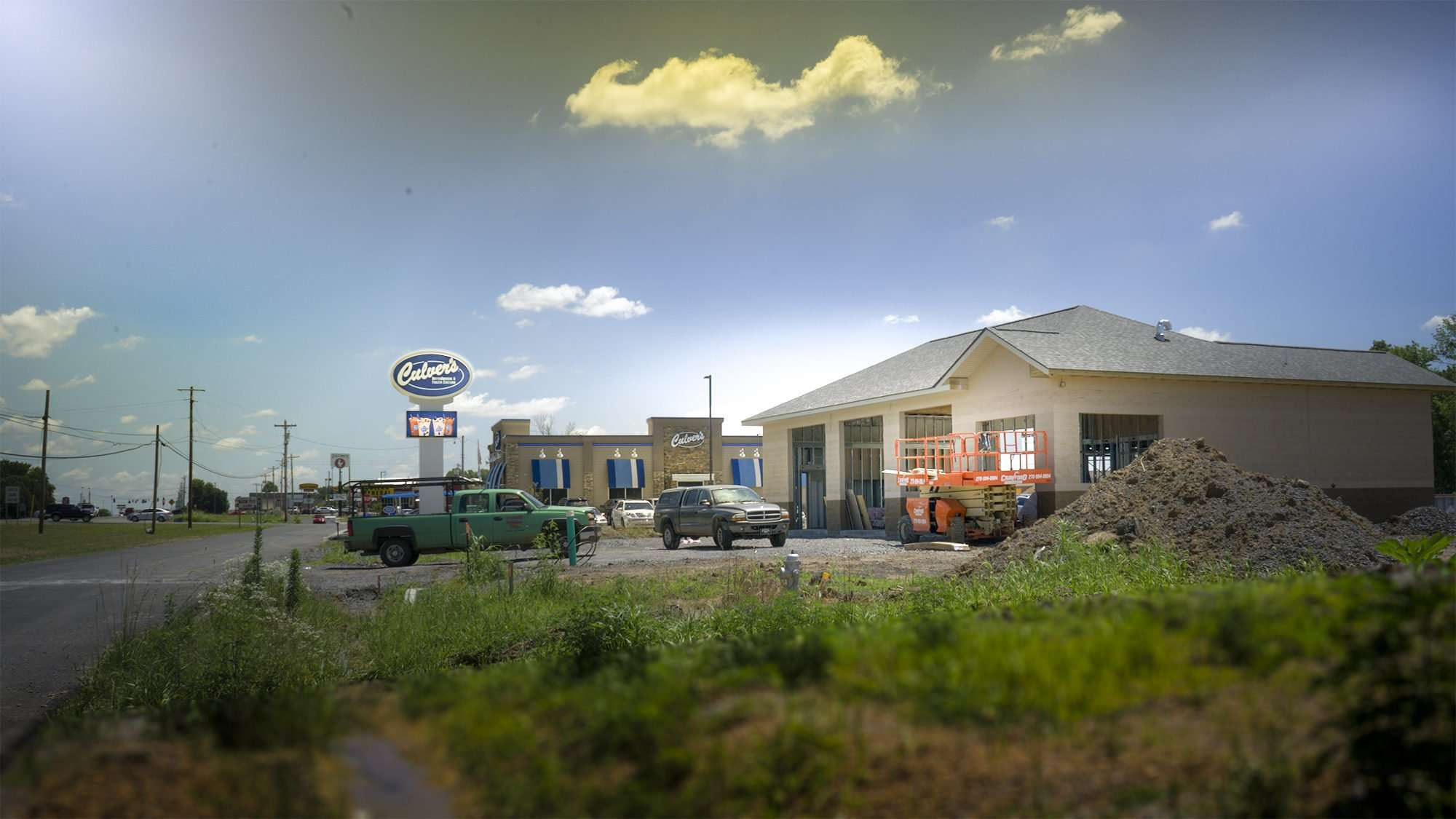 June 17, 2017 - Valvoline Instant Oil Change under construction on Old Hwy 60 by Culver's Paducah, KY/photonews247.com
