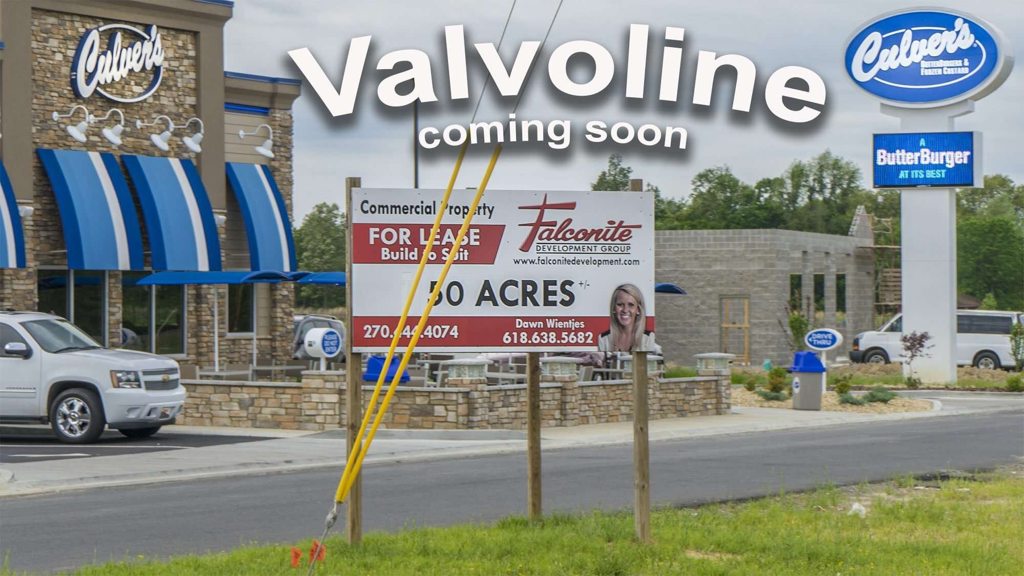 April 03, 2017 - Valvoline under construction next to Culvers Old Hwy 60, Paducah, KY/photonews247.com