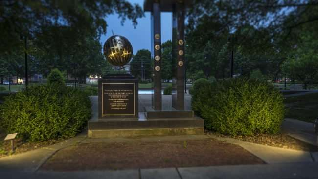 May 11, 2017 - World War II Memorial at Dolly McNutt Memorial Plaza, 301 South 5th Street. across from City Hall, Paducah, KY/photonews247.com