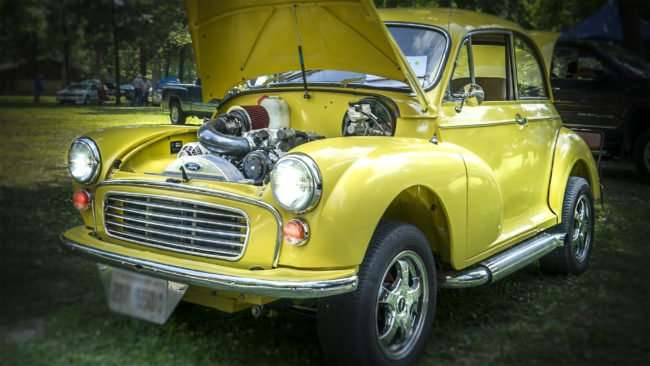 June 11, 2017 - 1969 Ford Morris Minor at Rotary Club's 31st Annual Super Car Show, Metropolis, IL/photonews247.com