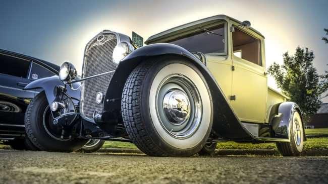 June 9, 2017 - Antique Ford at Super Cruise Night 2017 car show in Washington Park, Metropolis, IL/photonews247.com
