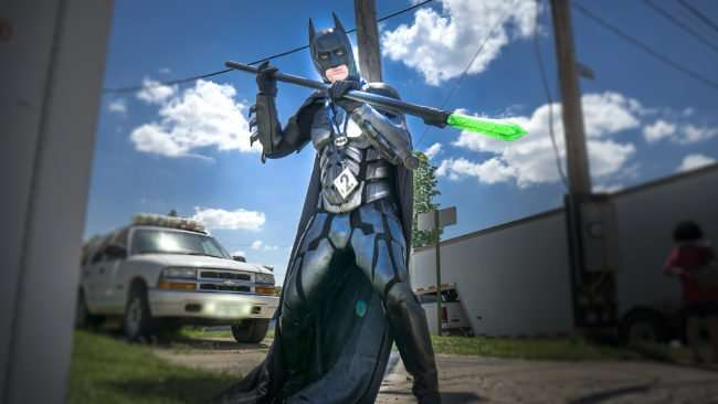 June 11, 2017 - Batman at Metropolis Supercon costume contest during Superman Celebration 2017, Metropolis, IL/photonews247.com