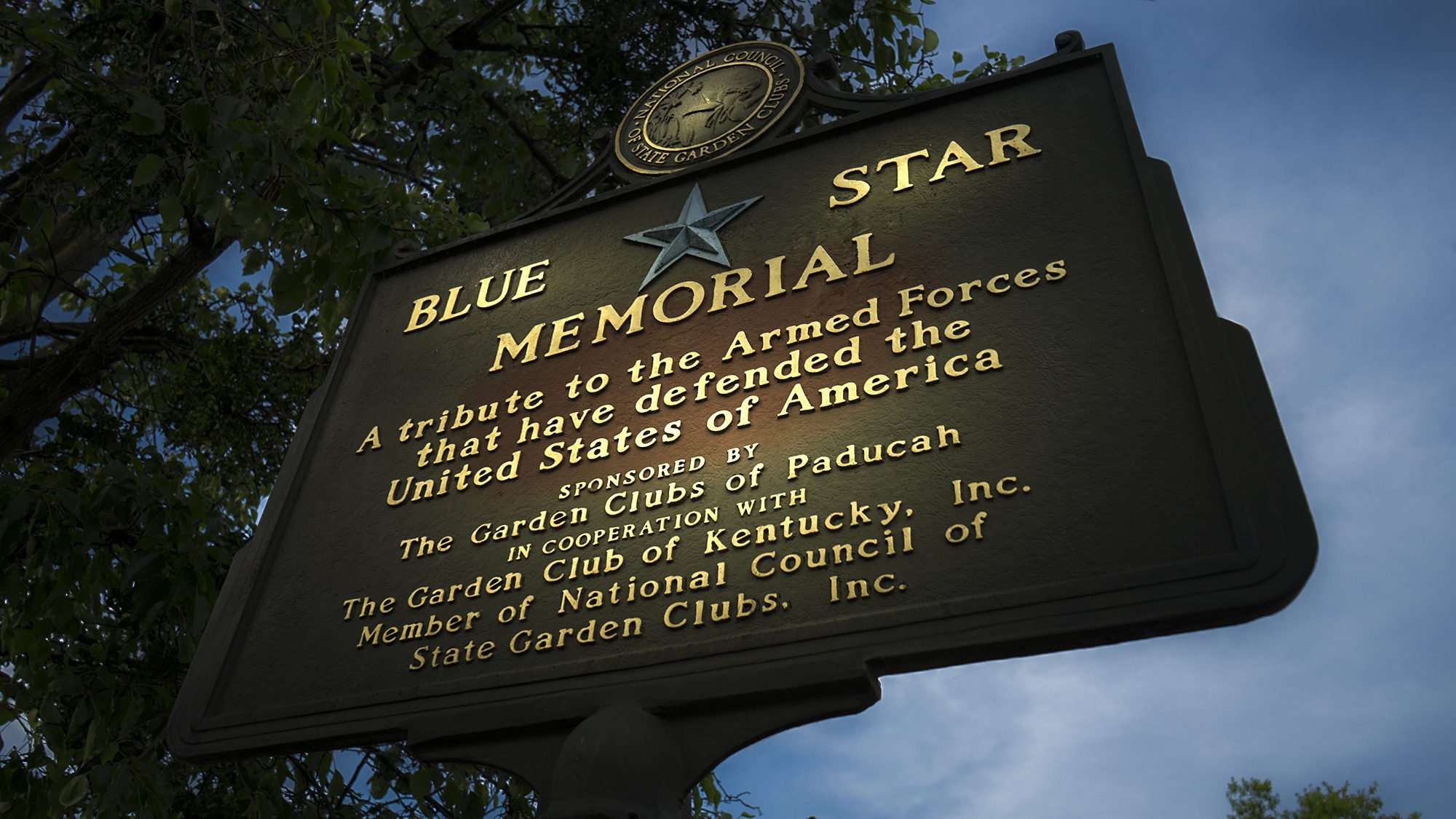 2017 - Blue Star Memorial and Tribute to the Armed Forces, downtown Paducah, KY/photonews247.com