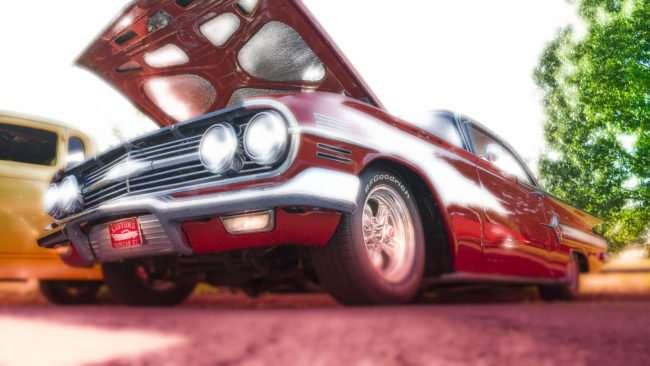 June 9, 2017 - Chevy Impala at Super Cruise Night 2017 car show in Washington Park, Metropolis, IL/photonews247.com