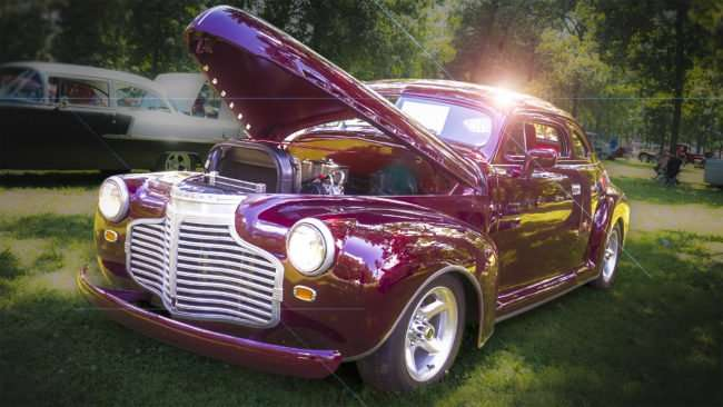 June 11, 2017 - Chevy Street Rod at Metropolis Rotary Club's 31st Super Car Show in Fort Massac State Park in Metropolis, IL/photonews247.com