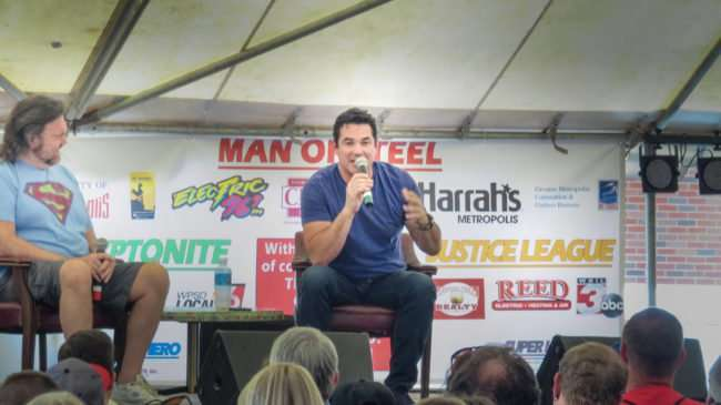 June 10, 2017 - Dean Cain Q&A with fans at Superman Celebration 2017, Metropolis, IL/photonews247.com