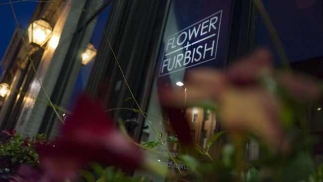 July 19, 2017 - Flower & Furbish used flower shop, Historic Broadway Main Street, Paducah, KY/photonews247.com