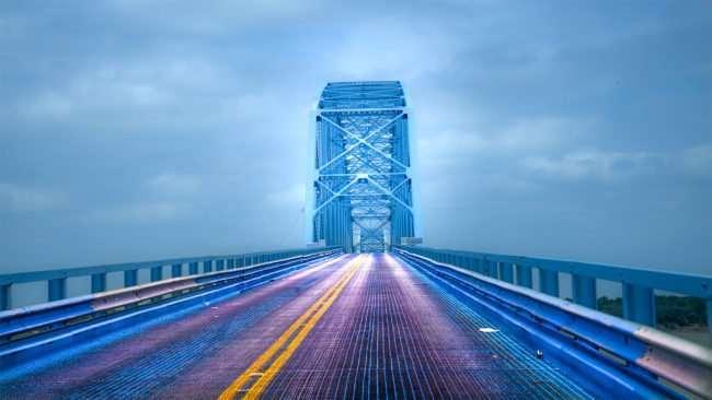 June 17, 2017 - Crossing Irvin S. Cobb-Brookport Bridge (US-45) heading towards Farm Frenzy in Metropolis, IL/photonews247.com