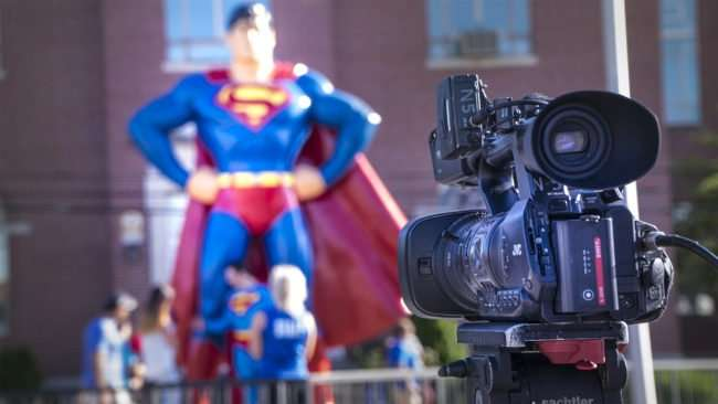 June 8, 2017 - Superman Celebration 2017 getting Media coverage/photonews247.com