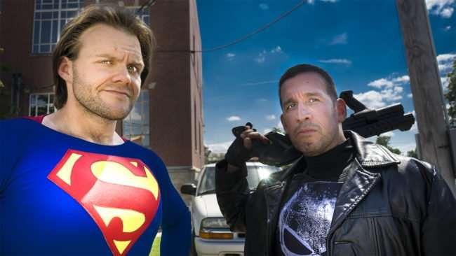 June 11, 2017 - Superman and crime fighter at Metropolis Supercon at Superman Celebration 2017, Metropolis, IL/photonews247.com
