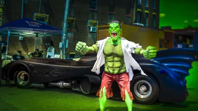 June 10, 2017 - The Hulk at Metropolis Super Con during Superman Celebration, on Market Street, Metropolis, IL/photonews247.com