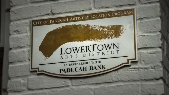 June 1, 2017 - Visitor Center Lowertown Arts District Partners of Paducah Bank/photonews247.com