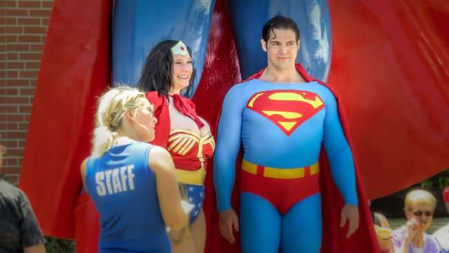 June 9, 2017 - Wonder Woman with Superman during Superman Celebration 2017 Metropolis, IL/photonews247.com