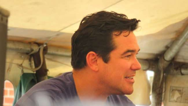 June 10, 2017 - right profile of Dean Cain at Q&A during Superman Celebration 2017, Metropolis, IL/photonews247.com