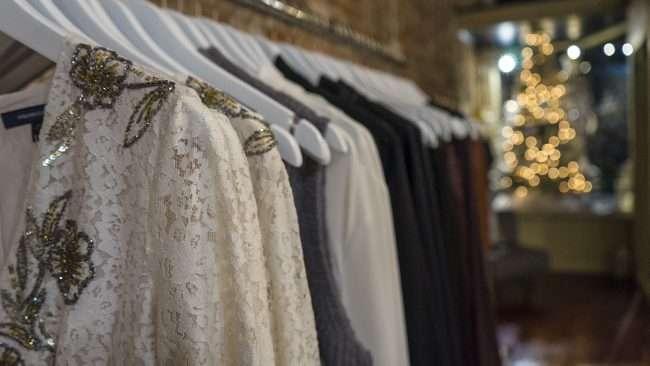 Nov 8, 2017 - Blouses, shirt rack at McClaran Manner Womens Boutique Market House Square, Paducah, KY/photonews247.com