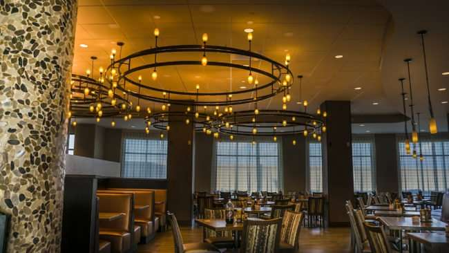 july 13, 2017 - Burger Theory dining room opening soon in Holiday Inn Paducah Riverfront/photonews247.com