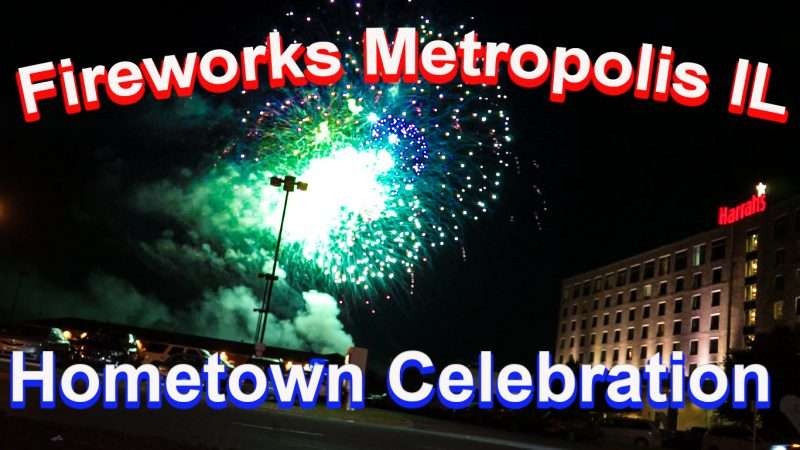 July 1, 2017 - Fireworks at Harrah's Metropolis, IL/photonews247.com
