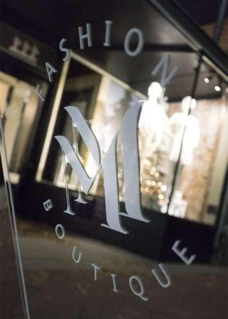 Nov 8, 2017 - McClaran Manner Fashion Boutique, sidewalk sign in Market House Square, Paducah, KY/photonews247.com
