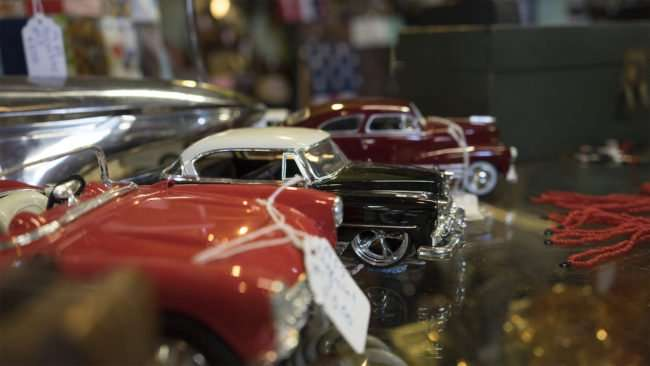 Aug 3, 2017 - Antique Galleria with model car collections, Paducah, KY/photonews247.com