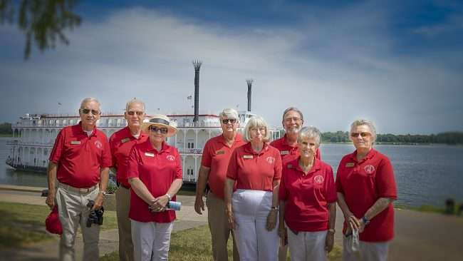 Aug 25, 2017 - Paducah Ambassadors are truly gracious by volunteering their time for events like today's first voyage of the American Duchess to Paducah's riverfront/photonews247.com
