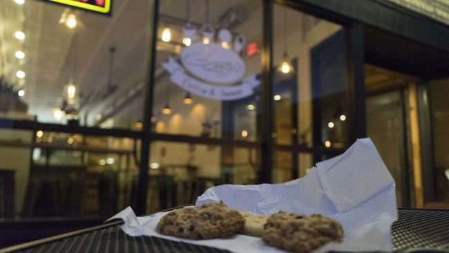 Nov 6, 2017 - Sissy's Sweet Shoppe sugar and raisin cookies baked inhouse on Market Street, Metropolis, IL/photonews247.com