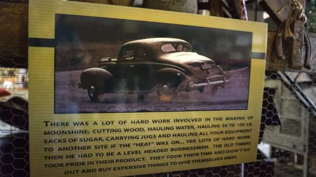 Aug 3, 2017 - Sign explaining what it took to make moonshine back in the day atPaducah Distilled Spirits, Paducah, KY/photonews247.com