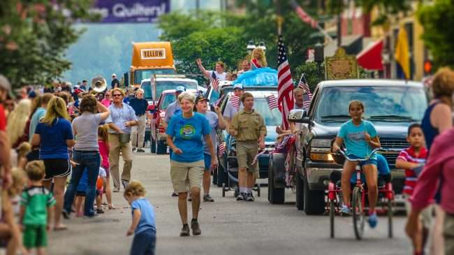 Sept 04, 2017 - Labor Day Parade on Broadway, Paducah's official Main Street in beautiful Downtown Paducah/photonews247.com