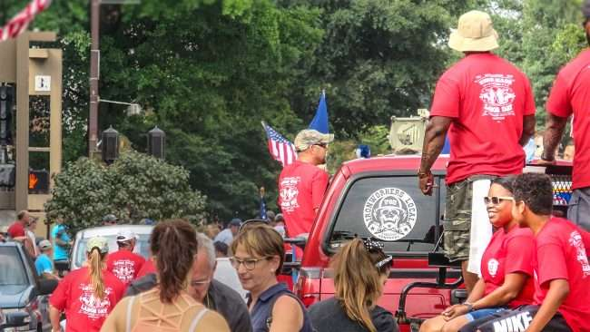 Sept 4, 2017 - Paducah Ironworkers Local 782 participate in Labor Day Parade on Broadway Main Street, Downtown Paducah KY/photonews247.com