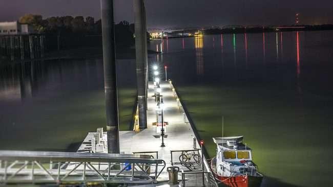 Sept 25, 2017 - Transient Dock Ohio River, Downtown Paducah, KY/photonews247.com