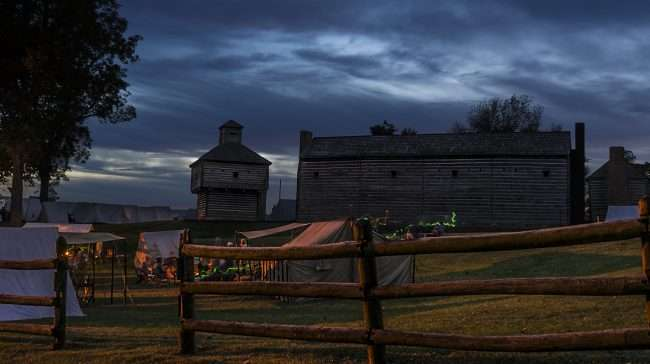 Oct 20, 2017- Actor base camp during Fort Massac Encampment, Metropolis, IL/photonews247.com