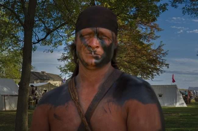 Oct 21, 2017 - American Indian participates in the 44th Annual Fort Massac Encampment, Metropolis, IL/photonews247.com