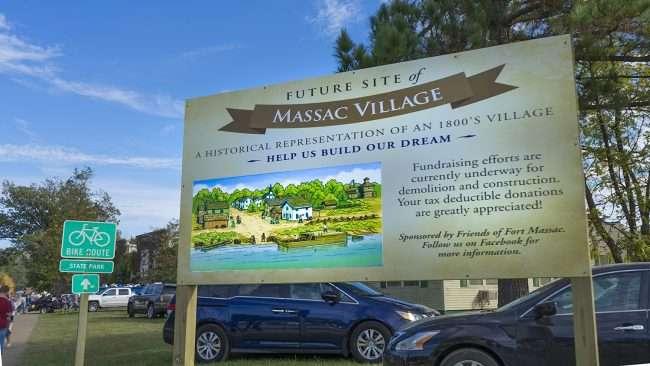 Oct 21, 2017 - Future site of Massac Village at Ft Massac State Park, Metropolis, IL/photonews247.com