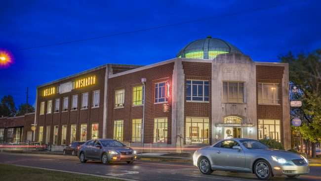 Oct 2, 2017 - Mellow Mushroom restaurant and Ice Cream Factory inside Historic Coca Cola Bottling Plant, Paducah KY/photonews247.com