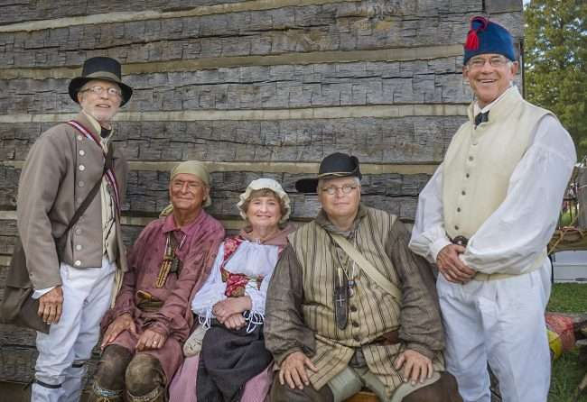 Oct 21, 2017 - Members of the Lewis & Clark Trail Heritage Foundation at 44th Annual Fort Massac Encampment, Metropolis, IL/photonews247.com