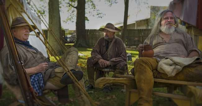 Oct 21, 2017 - Men with pipes and muskets participate in 44th Annual Fort Massac Encampment, Metropolis, IL/photonews247.com